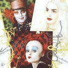 "Anne Hathaway & Johnny Depp ""Alice In Wonderland"" Autographed Original Hand Signed 8X10 Photo"