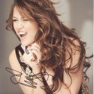 Miley Cyrus Autographed Original Hand Signed 8X10 Autograph Photo
