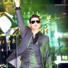 Robin Thicke Autographed Original Hand Signed 8x10 Photo