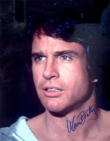 Warren Beatty Autographed Original Hand Signed 8x10 Photo