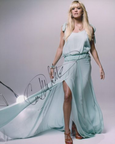 Carrie Underwood Autographed Original Hand Signed 8x10 Photo