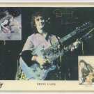 Denny Laine Original Hand Signed 8x10 Autographed Photo Paul McCartney Wings
