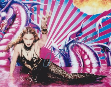 Madonna Autographed Original Hand Signed 8x10 Photo