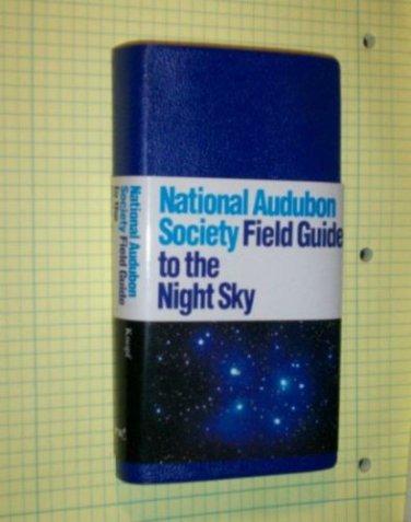 Audubon Society Field Guide Series Night Sky Astronomy Color Photos
