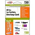 Universal Wireless Prepaid Card $50.00