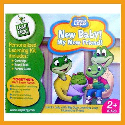 LEAP FROG Cartridge My New Baby! My New Friend! NIP