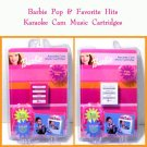 Barbie Pop & Favorite Hits Karaoke Cam Music Cartridges