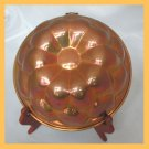 Vintage Copper Mold Flower Petal Motif Rolled Edges FS