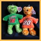 Team Speed Bears Stewart #20 Labonte #18 NASCAR NWT NEW