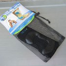 Yoga Socks Stick-e Small US Shoe Size W 5-7 M 4-6  Black Mesh Bag FREE Ship New