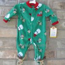 Carters Just One You My 1st CHRISTMAS Monkeys Snowmen Reindeers 3M FREE Ship