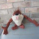 TAZ Rude Tude Noises Plush Tasmanian Devil Looney Tunes Warner Bros Mattel 2003