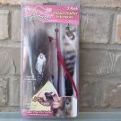 Feather Hair Extensions AS SEEN ON TV Snap on 2 Pack Instant NIP Pink Halloween