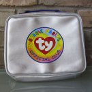 TY Beanie Babies Case Silver Zippered See-Thru Collectible 1999 FREE Shipping