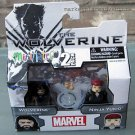 Mini Mates 2 Pack MARVEL The Wolverine Yukon & Ninja Yukio New Box FREE Ship