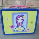 Barbie Lunch METAL Box Vintage 1999  No Thermos Jug Used Condition FREE Ship