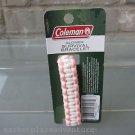 Coleman Glower Survival Bracelet Pink White Whistle 9-10' Nylon Cord FREE Ship