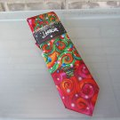 J. Garcia Jerry Garcia Snail Garden Silk Tie Christmas Collection Sixty Red NEW