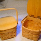 BASKET/PURSE LOOK HOW CUTE! READY TO PAINT