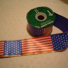 50 FOOT ROLL AMERICAN FLAG RIBBON