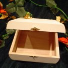 NEW WHITE CIGAR BOX~JEWEL BOX~READY TO PAINT
