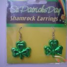 Shamrock Earrings for St. Patricks Day