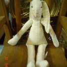 11 INCH MUSLIN BUNNY FOR EASTER