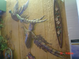 Pheasant Pair Wall Hangings