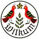 Wilkum Hex Sign - 8 Inch
