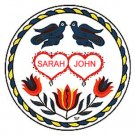 Marriage Hex Sign - 8 Inch