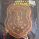 College Greek Fraternity/Sorority Oak and Walnut Plaques for Paddle - IOTA PHI THETA