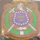 College Greek Fraternity/Sorority Oak and Walnut Plaques for Paddle -  OMEGA PSI PHI