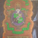 College Greek Fraternity/Sorority Oak and Walnut Plaques for Paddle - LAMBDA CHI ALPHA