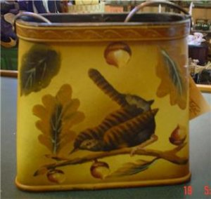 Leather and Wood Purse Designed by Dick Idol