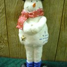 SNOWMAN CHRISTMAS TREE FLAG HOLDER