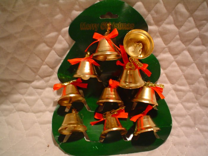 45 Christmas or Patriotic Holiday Decorating Bells