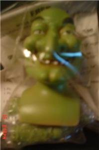 Porcelain Green Witch Doll Kit~ Head 3 inch /Hands