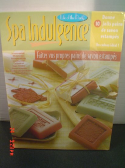 Spa Indulgence - Make Your Own Decorative Embossed  Soap Bars