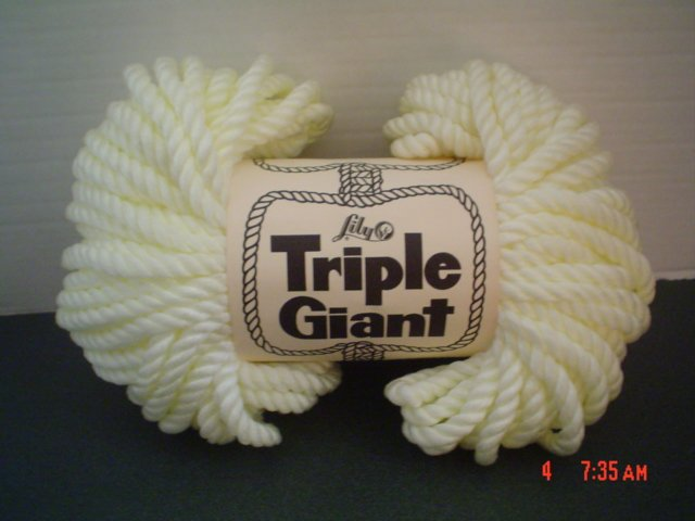 Triple Giant Knotting Cord by Lily - 60 Yards - Macrame