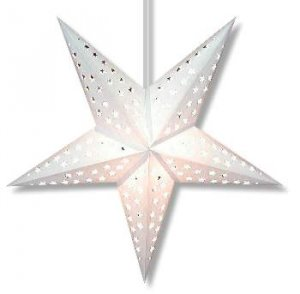 Purity Star Lamp in White