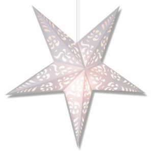White Punch Star Lantern