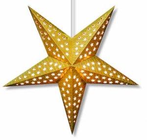 Gold Hologram Star Light