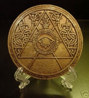 Tomb Raider Medallion Light Disc