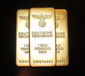 WW ll German Gold Bar Replicas