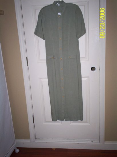 Sage Green dress, a Sonia Latif original