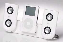 Logitech mm22 Portable iPod Speakers