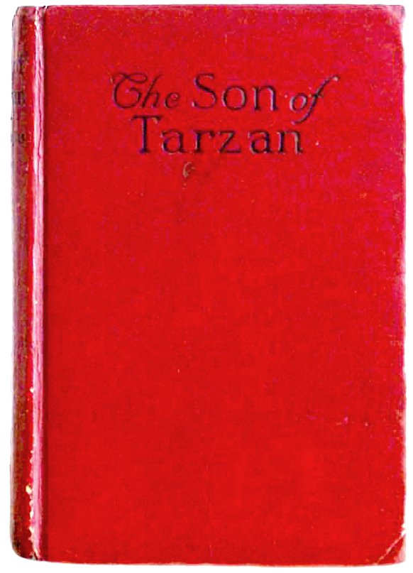 Edgar Rice Burroughs The Son of Tarzan U.S. Wartime First Cheap Edition 1917
