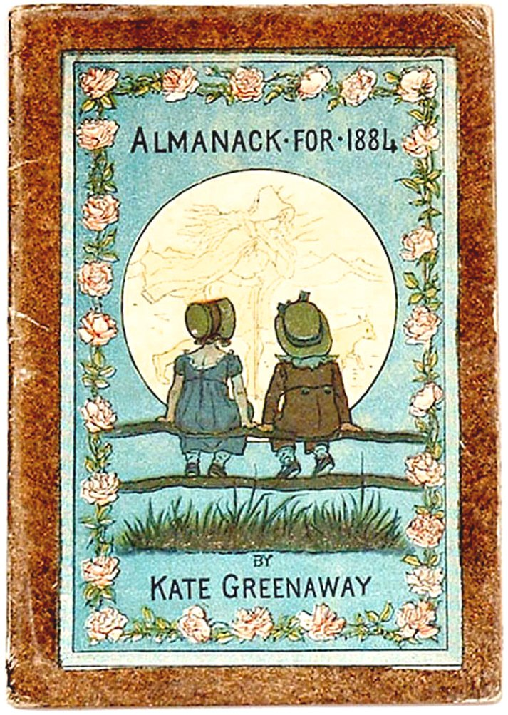 Kate Greenaway Almanack for 1884