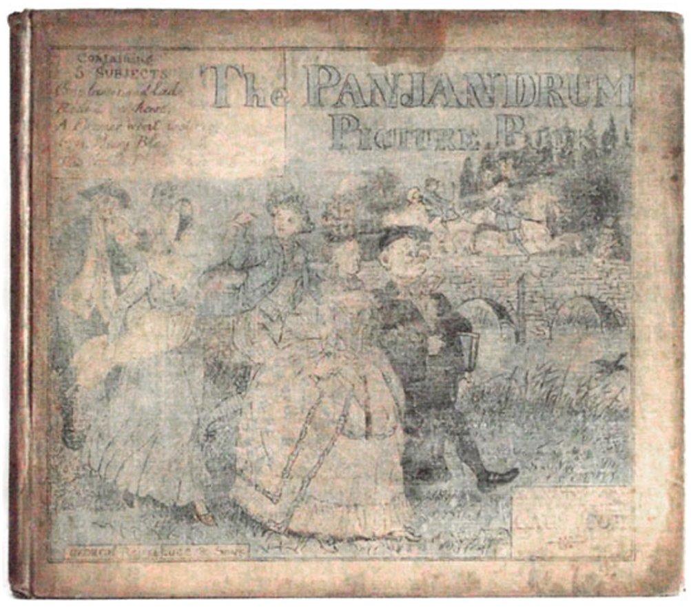 Randolph Caldecott Book The Panjandrum Picture Book circa 1885