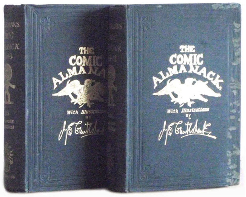George Cruickshank Books The Comic Almanack First & Second Series